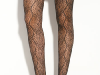 Hue Leaf Net Tights